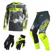 Oneal Element Camo Combo neon Jersey Crosshose