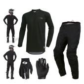 Oneal Element Classic Combo schwarz Crosshose Jersey Handschuhe