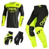 Oneal Mayhem Hexx Combo schwarz neon Jersey Crosshose