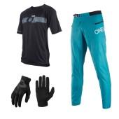 Oneal Trailfinder Combo blau PinIt Jersey MTB Hose