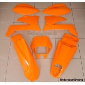 Plastiksatz KTM LC4 99 Enduro orange