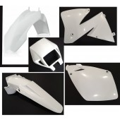 Plastiksatz KTM EXC 00-02 weiss