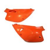 Seitenteile hinten orange KTM LC4 ab 93