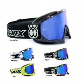 TWO-X Race Crossbrille blau verspiegelt Graphic