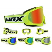 TWO-X Race Crossbrille verspiegelt Neon