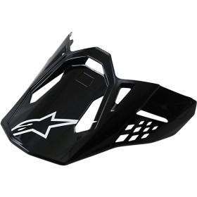 Alpinestars SM8 / SM10 Helmschirm schwarz Glanz OS