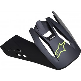 Alpinestars SM5 Helmschirm Compass schwarz gelb OS