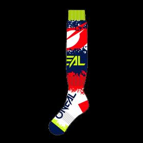Oneal Pro MX Revit Socken rot blau
