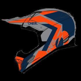 Oneal Fury Hybrid Helmvisier blau orange