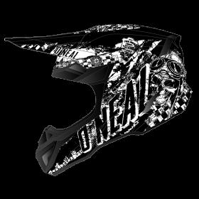Oneal 5Series Rider Helmvisier schwarz weiss