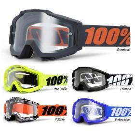 100% Crossbrille Accuri klar