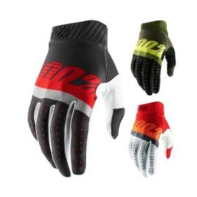 100% Ridefit 2 Handschuhe in Schwarz Grün Rot Orange