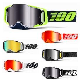 100% Armega Crossbrille verspiegelt