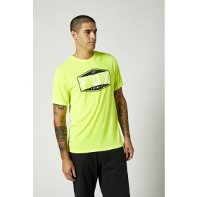 Fox EMBLEM Tech T-Shirt SS neon gelb