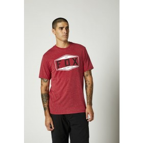 Fox EMBLEM Tech T-Shirt SS rot
