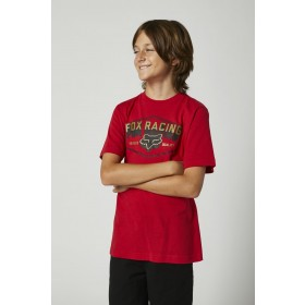 Fox FOUNDATION Kids T-Shirt SS rot