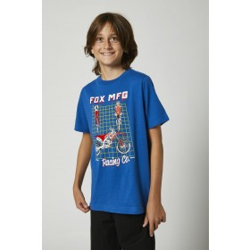 Fox CYPHER Kids T-Shirt SS blau