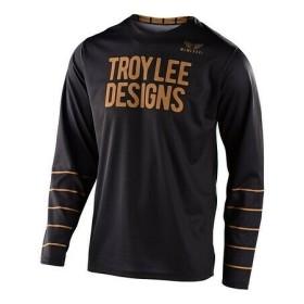 Troy Lee Designs GP Pinstripe MX Jersey schwarz