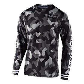 Troy Lee Designs GP Confetti MX Jersey schwarz