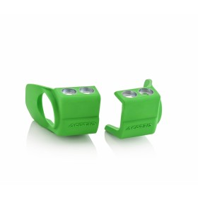Acerbis Gabelfussprotektor für Honda/für Kawasaki grün