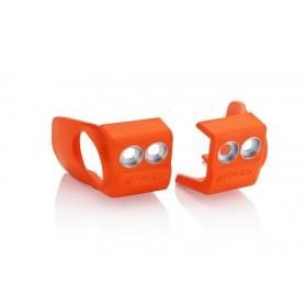 Acerbis Gabelfussprotektor für KTM/HUSQY/SHERCO orange 2