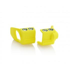 Acerbis Gabelfussprotektor für Suzuki gelb