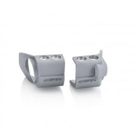 Acerbis Gabelfussprotektor für Suzuki silber
