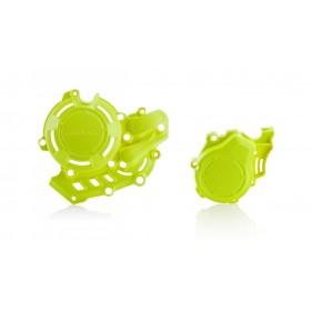 Acerbis KIT X-POWER Motordeckelschutz neon gelb