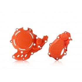 Acerbis KIT X-POWER Motordeckelschutz SX-F/FC 16 orange 2