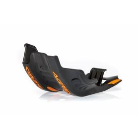 Acerbis Motorschutz Skid Plate für KTM EXC-F 450/500 17 schwarz