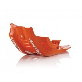 Acerbis Motorschutz Skid Plate für KTM SXF 450 2016 orange 2