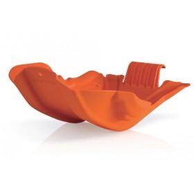 Acerbis Motorschutz Skid Plate orange