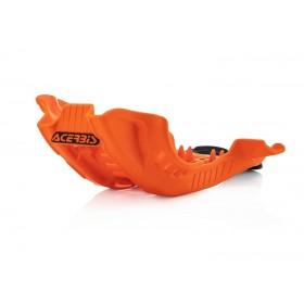 Acerbis Motorschutz Skid Plate SXF/FC 250/350 19 orange schwarz