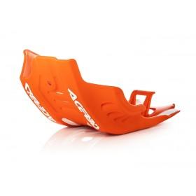 Acerbis Motorschutz Skid Plate SXF/FC 450 19 orange weiss