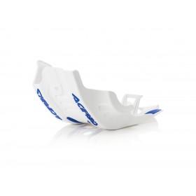 Acerbis Motorschutz Skid Plate SXF/FC 450 19 weiss blau