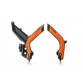 Acerbis Rahmenschützer für KTM SX/SXF 2019 schwarz orange