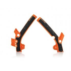 Acerbis Rahmenschützer X-GRIP für KTM 85 13/16 - TC 85 1 orange