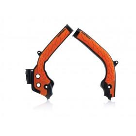 Acerbis Rahmenschützer X-GRIP für KTM SX/SXF 2016 schwarz orange