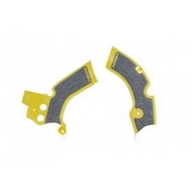 Acerbis Rahmenschützer X-GRIP für Suzuki RMZ 250 gelb grau