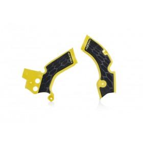 Acerbis Rahmenschützer X-GRIP für Suzuki RMZ 250 gelb schwarz