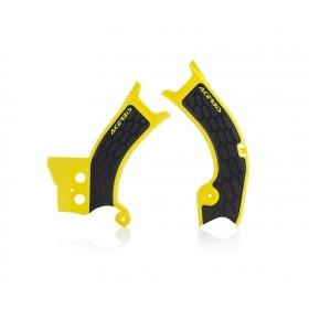 Acerbis Rahmenschützer X-GRIP SUZ RMZ450 2018 gelb schwarz