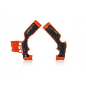 Acerbis Rahmenschützer X-GRIP SX65 orange 2