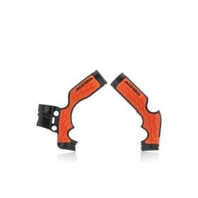 Acerbis Rahmenschützer X-GRIP SX65 schwarz orange