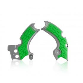 Acerbis Rahmenschutz X-GRIP für Kawasaki KXF 250 17 grau grün