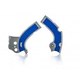 Acerbis Rahmenschutz YZF250 17 / YZF450 16-17 silber blau