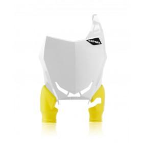 Acerbis Startnummerntafel RAPTOR RMZ 450 18 weiss gelb