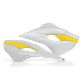 Acerbis Tankspoiler DX SX für Husqvarna 2014 weiss gelb