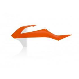 Acerbis Tankspoiler für KTM SX 85 2018 orange weiss