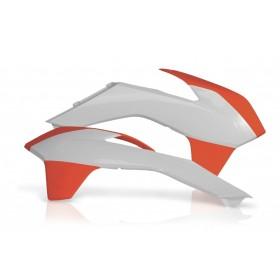 Acerbis Tankspoiler für KTM SX SXF 2013 orange weiss