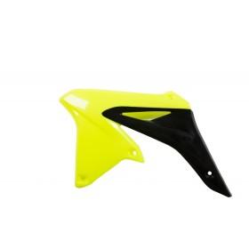 Acerbis Tankspoiler RMZ 250 2010 neon gelb schwarz